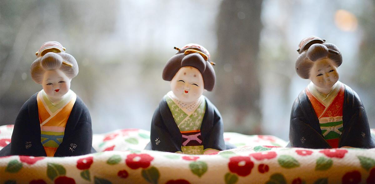 季の郷 山の湯 人形